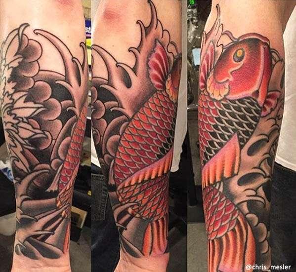 koi Tatuaggio Giapponese