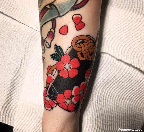 sakura Tatuaggio Giapponese