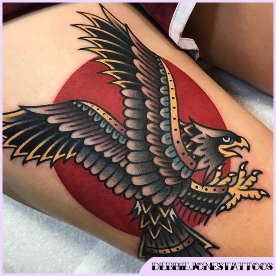 aquila old school tattoo