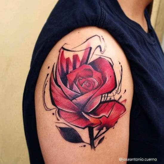 Idee Tatuaggi Watercolor