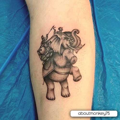 tattoo elefante storico