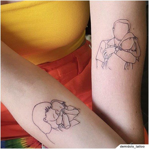 Idee Tattoo Famiglia