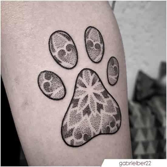 tattoo mandala zampina