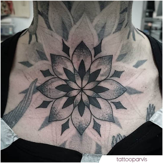 tattoo mandala gola