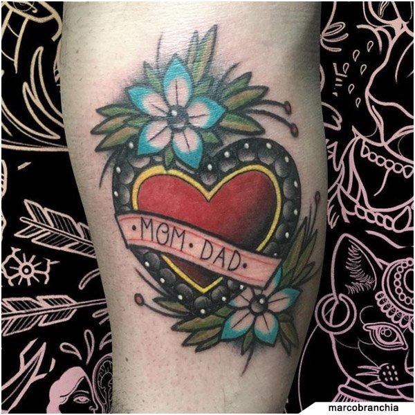 Tatuaggio Famiglia Old School