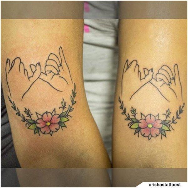 Tatuaggio Famiglia Sorelle