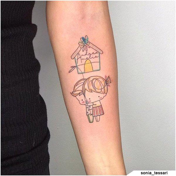 Tatuaggio Famiglia Sonia Tessari