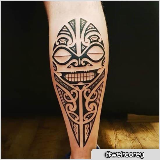 maori tatuaggio