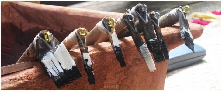 tatuaggio samoano strumenti