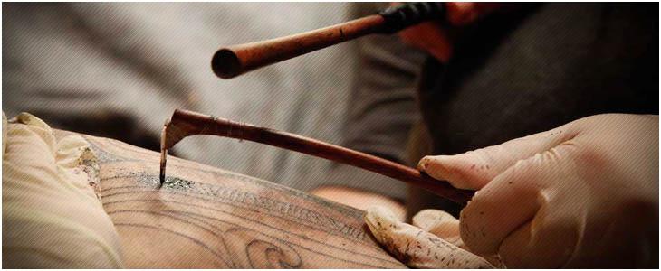 maori tattoo tecnica tradizionale