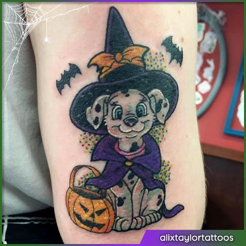 Halloween tattoo la carica dei 101