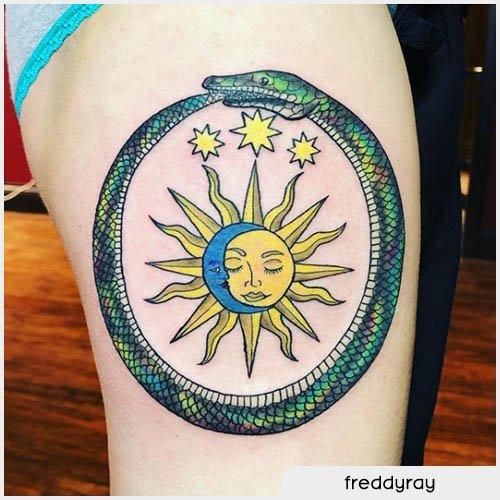 ouroboros tattoo tarocchi
