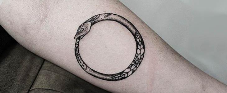 Significato ouroboros tattoo 60 idee per tatuaggi con l for Minimal significato