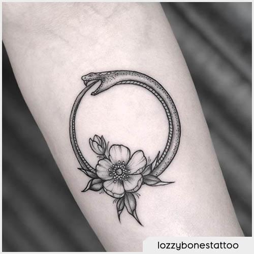 Ouroboros london tattoo