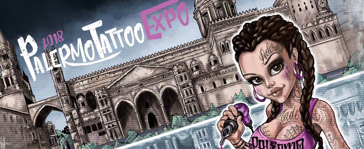 palermo tattoo expo flayer