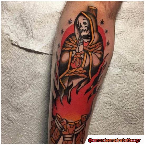 Santa Muerte Traditional