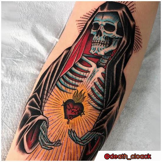 Classica Santa Muerte Tattoo