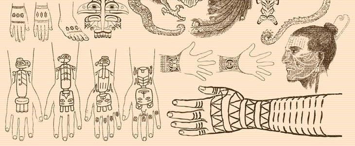ejemplos de tatuajes antiguos