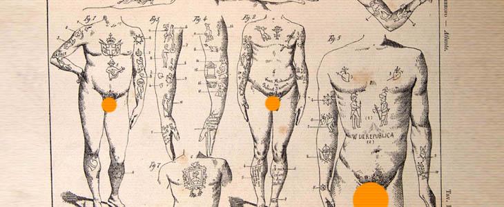 historia del hombre delincuente tatuador