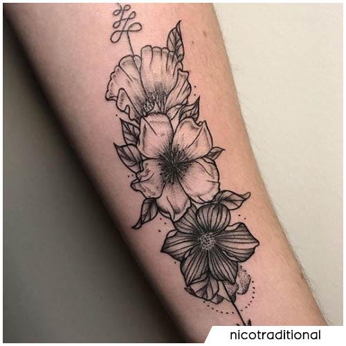 fiori unalome
