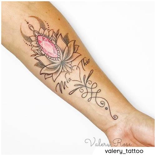 tatuaggio figli unalome