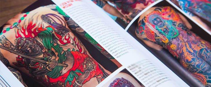 Catálogo de tatuajes japoneses