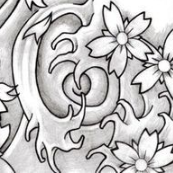 tatuaggio giapponese esempio wind bar