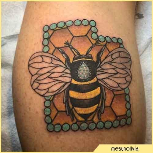 Tatuaggio Ape Perle