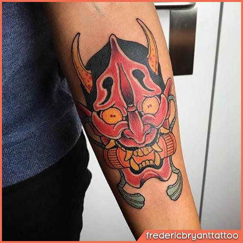 tatuaggio giapponese demone