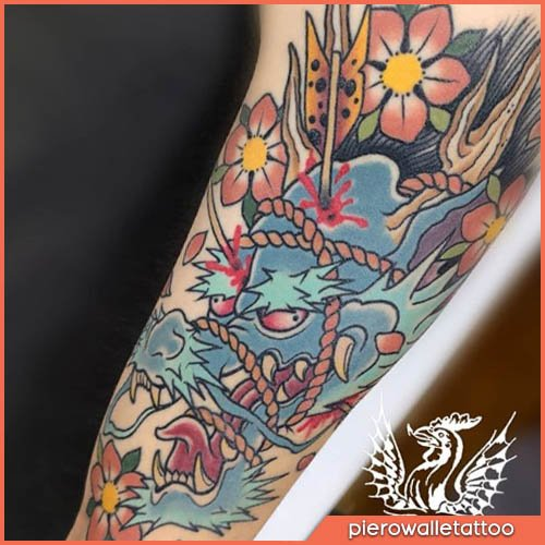 drago japanese tattoo
