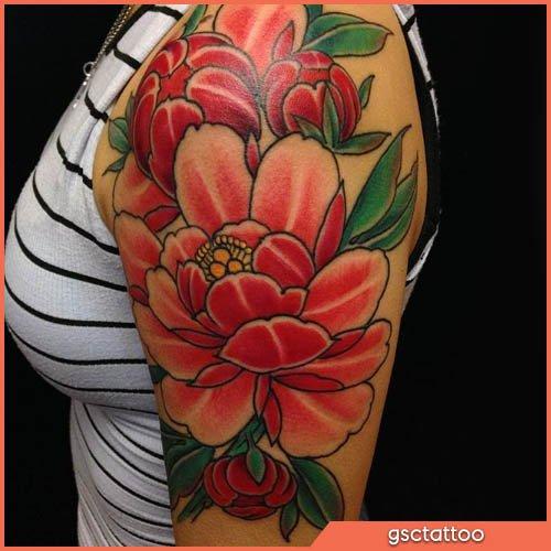 fiore di loto tatuaggio giapponese