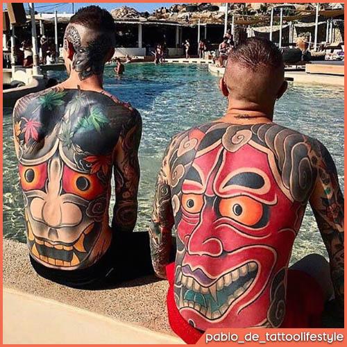 Espalda japonesa