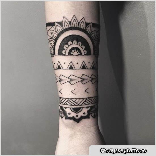 tattoo maori sole