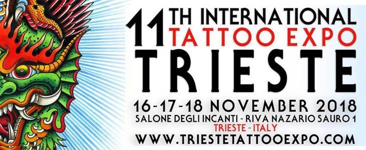 Trieste Tattoo Expo 2018 locandina