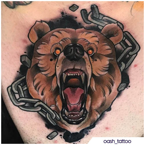 tattoo orso oash