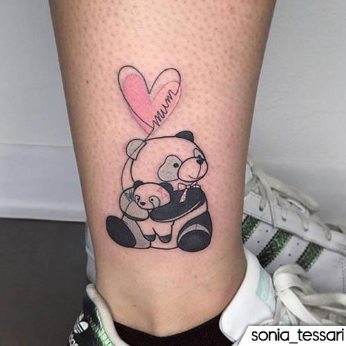 tatuaggio panda sonia tessari