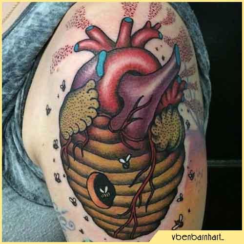 Tatuaje De Colmena