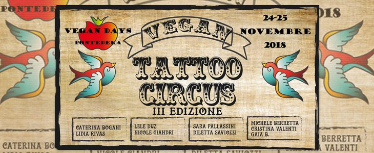 Vegan Tattoo Circus 2018