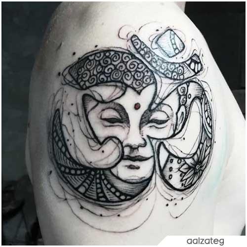 Buddha Om Tattoo