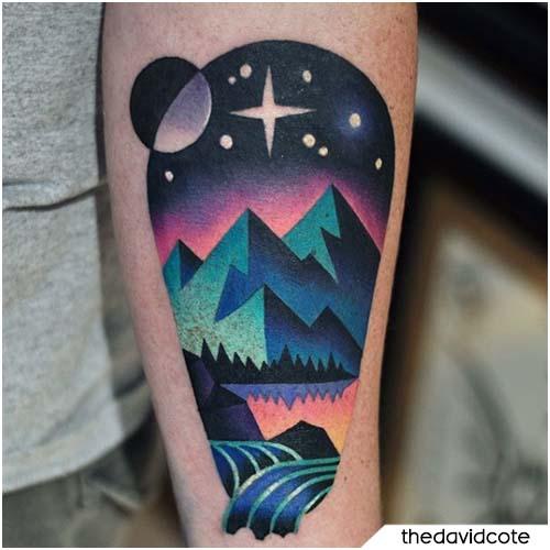 David Peyote montagne
