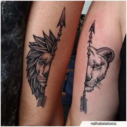 tatuaggio leone fratelli