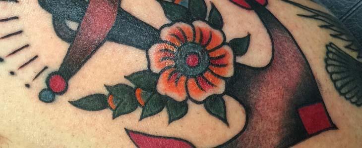 Storia tatuaggio ancora