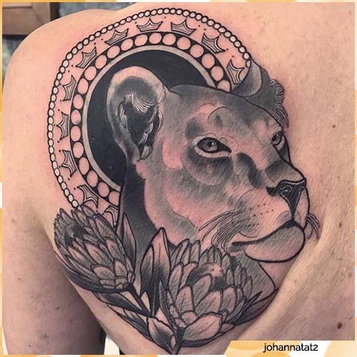 tatuaggio leonessa
