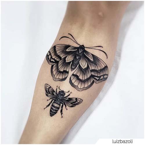 Tattoo Falena Stinco