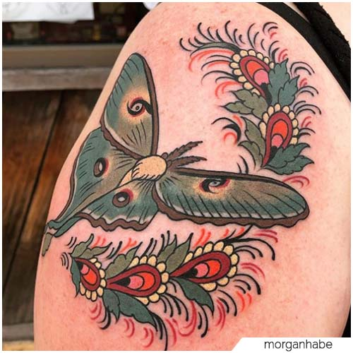 Tattoo Falena giapponese