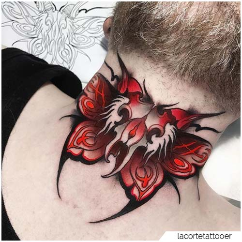 Tattoo Falena Gola