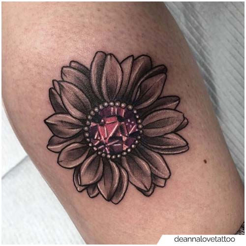 Joya Girasol Tatuaje