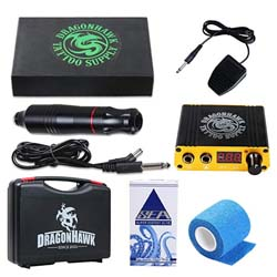 Kit Tattoo Principianti: Dragonhawk Tattoo Machine Kit Penna