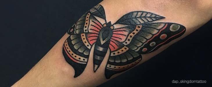 significato tattoo falena