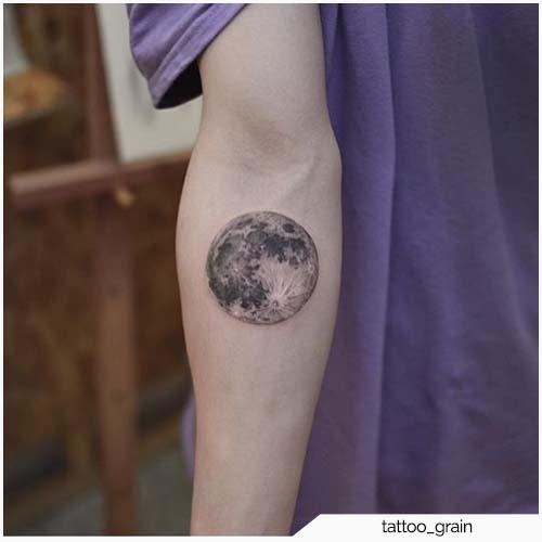 Tattoo Luna Piena